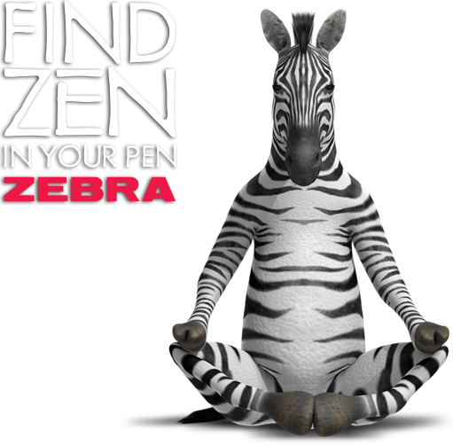 Find Zen in your Zebra Pen